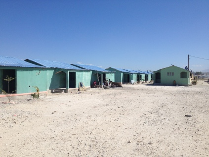 new housing built at Cite Soleil
