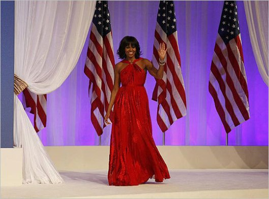 michelle obama inauguration ball