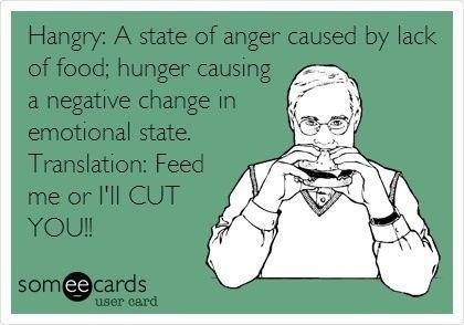 hangry someecard