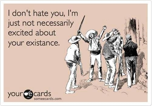 hate you someecard