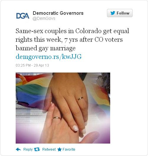 colorado civil unions