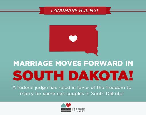 south dakota marriage equality